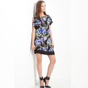 Elizabeth and James Silk Floral Nora Dress Medium